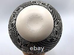 Native American Pottery Acoma Handmade Stunning Work STUNNING Vase