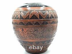 Native American Pottery Handmade Navajo Indian Signed Beautiful Native Artwork