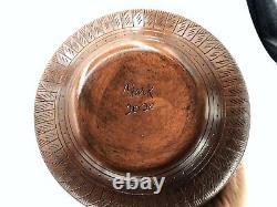 Native American Pottery Handmade Navajo Indian Signed Beautiful Native Vase