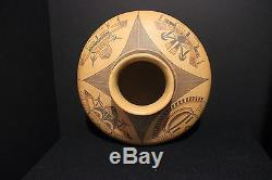 Native American Pottery, Jean Sahmie Nampeyo (Hopi-Tewa) 7 x 11