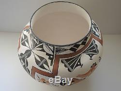Native American Pottery Pot Olla Acoma Pueblo