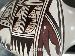 Native American Pottery Vase Polychrome 8 tall by Marianne