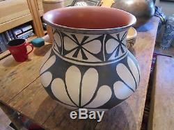 Native American Pottery Vintage Santo Domingo Pueblo NM Arthur & Hilda Coriz