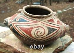 Native American Prehistoric Item Casas Grande Fish Effigy Olla Pottery PH191