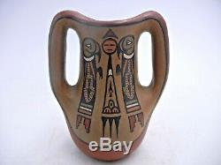 Native American Santa Clara Mini Jug by Lela and Luther