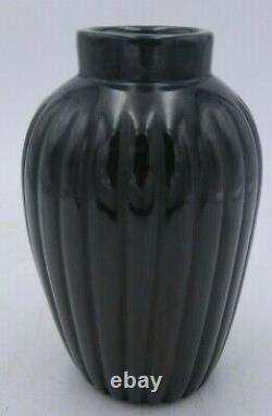 Native American Santa Clara Pueblo Vase by Alvin Baca