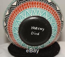 Native American Seed Pot by Harriet Yabeny, Navajo
