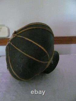 Native American Southwest Rawhide Pot Indian Pottery Vase