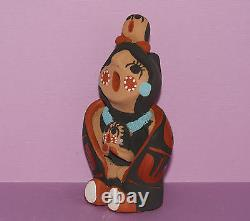 Native American Storyteller Figure by Helen Sando Garcia from Jemez Pueblo