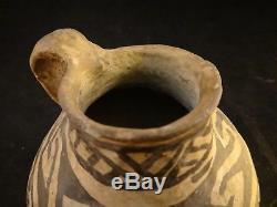 Native American Tularosa Basin Pottery Jug. Anasazi. 1150-1300 C. E. 4 3/8 t