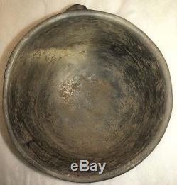 Native American Turtle Rim Effigy Bowl