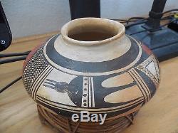 Native american Hopi pottery bowl signed Nampeyo attributed to Old Lady Nampeyo