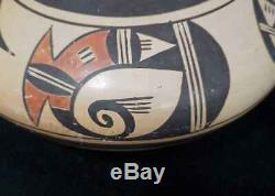 Nellie Nampeyo Hopi Native American Indian Migration Jar Pot Bowl Pottery
