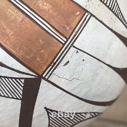 Old Acoma Pueblo Native American pottery olla