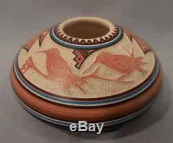 Orig 1988 Pottery By Native American Indian William Yazzie $425.00 No Reserve