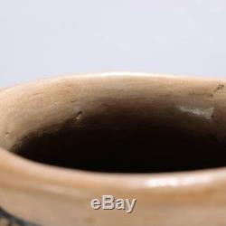 Oversized Antique Native American Acoma Polychrome Pottery Olla Jar