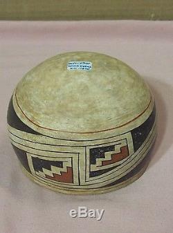 PRE-HISTORICPAQUIME CASA GRANDE POLYCHROME ART POTTERY BOWL1060 to 1340 A. D