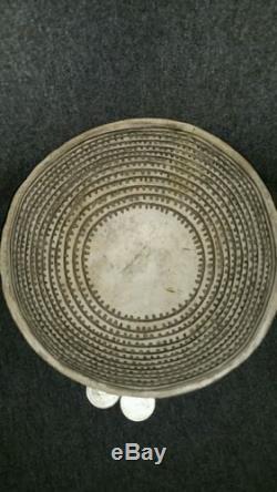 PRE-HISTORIC ANASAZI THIN WALLED POTTERY BOWL FOUND IN 1927 RARE