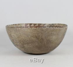 Pre-historic Native American Anasazi Painted Pottery Bowl