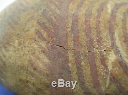 Pre-Columbian Hohokam Pottery Olla Pot Native American Artifact 5.25 x 7.25