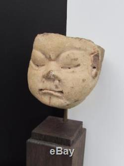 Pre Columbian Mayan pottery fragment Circa 600 A. D. Mexico