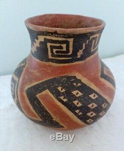 Pre-Columbian Tonto polychrome pot vessel olla Salado Native American Arizona 6