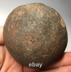 Pre-Historic-Pre-Columbian Native American Salado Ware Pottery Round Bottom Jar