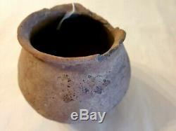 Pre-historic Native American Anasazi Hand Coiled Pottery