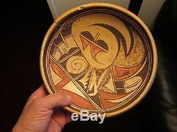 Prehistoric Arizona Anasazi Sityatki Hopi polychrome pottery bowl
