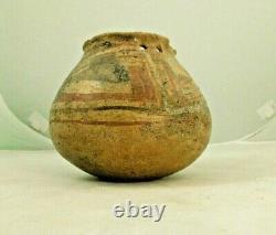Prehistoric MOGOLLON Native American Pottery Olla 5 x 5.5