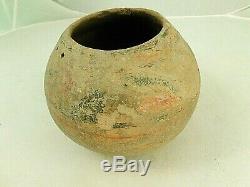 Prehistoric MOGOLLON Native American Pottery Olla 5 x 6.5 IN AS FOUND CONDITIO