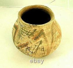 Prehistoric MOGOLLON Native American Pottery Olla 6 x 7