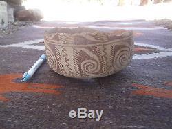 Prehistoric Native American Anasazi Pottery artifacts Bowl MUSEUM QUALITY #2