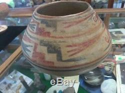 Prehistoric Native American Casa Grande Paquime Polychrome Pottery Jar