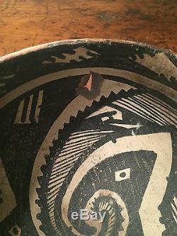 Prehistoric Native American Clay Bowl Rare