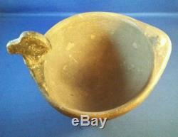 RARE Caddo Bird Duck Effigy Bowl