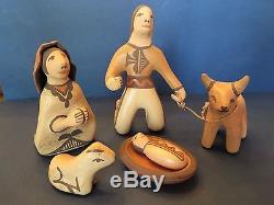 Rare Nativity By Zia Artist, Lois Medina