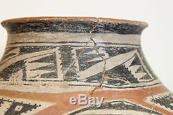 RARE VERY LARGE ANAZAZI TONTO PREHISTORIC WATER OLLA CIRCA 1300 AD -NO RESERVE