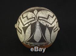REDUCED! A fine Acoma pottery canteen, Native American Indian, Circa 1900