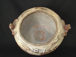 REDUCE! Large Zuni Pottery Frog Jar, Southwest Native American Indian, c. 1890