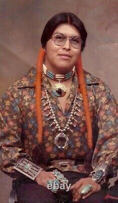 Rare Carlos Sunrise Dunlop Native American Pottery Bowl San Ildefonso 1958-1981