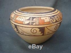 Rare HOPI Seed Jar Shaped Pottery DELAINE TOOTSIE Native American Indian