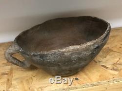 Rare Huge 10 1/2 Arizona Native American Indian Hohokam Anasazi Pottery Bowl Pot