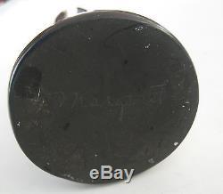 Rare Signed Pair Margaret Tafoya Black Spiral Candlesticks Santa Clara Pueblo