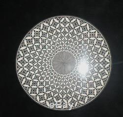 Rebecca Lucario ACOMA Fine Line 6.25 Pottery Plate by Native American Artist