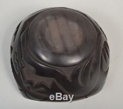 Reycita Cosen Santa Clara Pueblo Native American Pottery Bowl