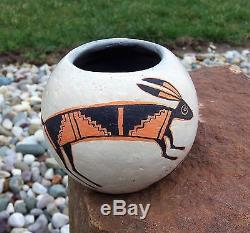 Richard Zane Smith 80 Southwest American Native Indian Rabbit Pot