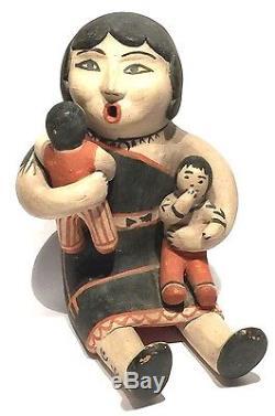 Seferina Ortiz 1931-2007 Cochiti New Mexico Storyteller Doll Native American