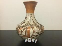 SUPERB ACOMA VASE (8) 1940s NATIVE AMERICAN