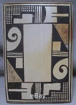 Sadie Adams (aka Flower Girl) Native American Hopi Pottery Tile